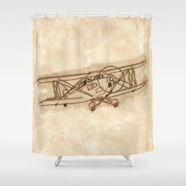 Airplane Shower Curtain