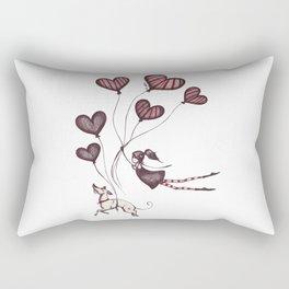 Spreading Love pt.2 Rectangular Pillow