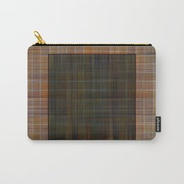 Patched plaid tiles pattern Carry-All Pouch