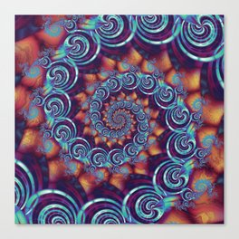 Spirals and Twisters Canvas Print