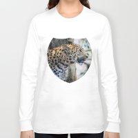 jaguar Long Sleeve T-shirts featuring Jaguar by Veronika