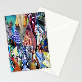 Collage - Triangulation Stationery Cards
