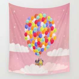 """""""Up"""" by Anna Shepeta Wall Tapestry"""