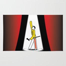 Freddie at the Opera Rug