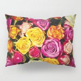 Real roses pattern Pillow Sham