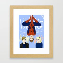 Swinging Both Ways Framed Art Print
