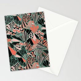 Paperfolds in 50's Pop Colourway  Overall Pattern Stationery Cards