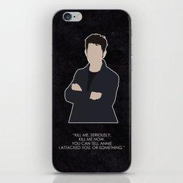 Being Human - Hal Yorke iPhone Skin