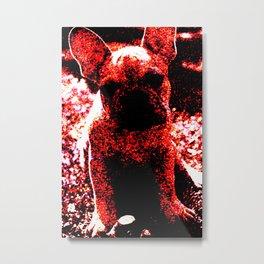 French Bulldog Art Metal Print