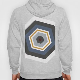 hexagon purple Hoody