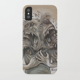 One Screaming Monkey at a Time iPhone Case