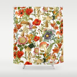 Mushroom Dreams 2 Shower Curtain