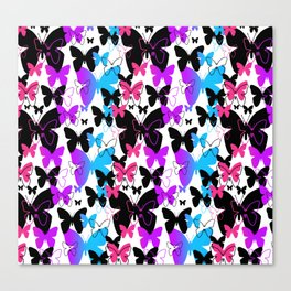 Rainbow Butterfly  Canvas Print