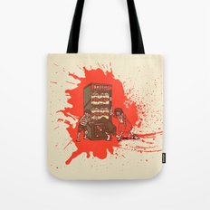 Hurry up, someone is coming! Tote Bag