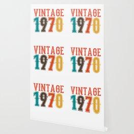 Vintage 1970 Birthday Gift Idea Wallpaper