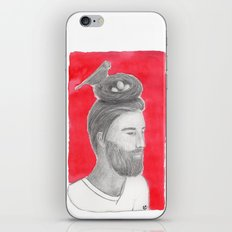 Nest-head iPhone & iPod Skin