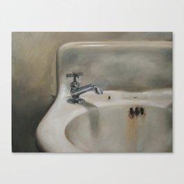 Corner sink 1 Canvas Print