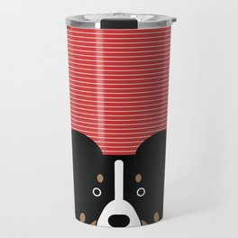 Border collie custom Travel Mug