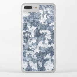 Paint Texture Surface 47 Clear iPhone Case