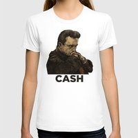 johnny cash T-shirts featuring Johnny Cash by Philipp Banken