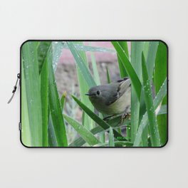 Kinglet Approaching Laptop Sleeve