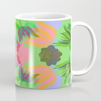 oasis Mugs featuring Oasis by Ingrid Castile
