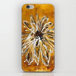 Anemone in Grey iPhone Skin