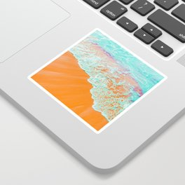 Coral Shore #photography #digitalart Sticker