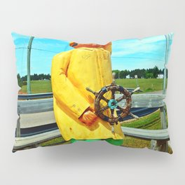 Fishermen's Mascot Pillow Sham