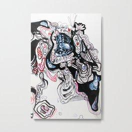 Sketchbook Selection Three Metal Print
