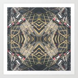 Hong Kong Kaleidoscope 06 Art Print