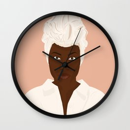 Nola Darling Wall Clock