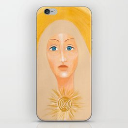 Goddess no 8 iPhone Skin