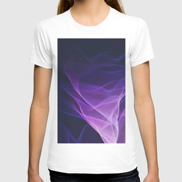 Out of the Blue - Pink, Blue and Ultra Violet T-shirt