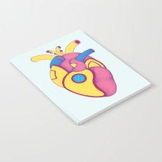 Yellow Submarine Heart Notebook