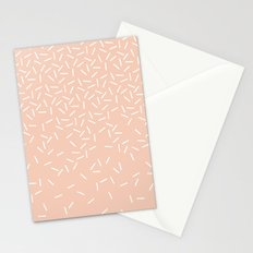 Sprinkles - in Peach Stationery Cards