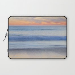 Magical Waves at sunset. Square. Tarifa Beach Laptop Sleeve