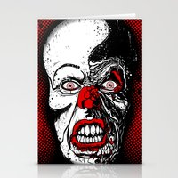 pennywise Stationery Cards featuring Pennywise by Beery Method