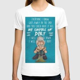 Jhonny Cash -hurt (sad songs series) T-shirt