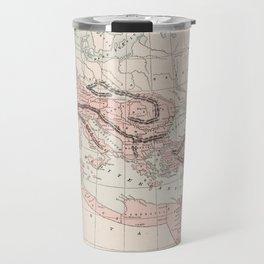 Vintage Map of The Roman Empire (1901) Travel Mug