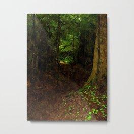 Faerytale Forest Metal Print