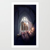 In the House of my Father Art Print