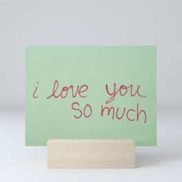 USA - AUSTIN - I Love You So Much Mini Art Print