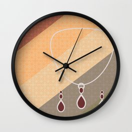 Jangle Dangle Wall Clock