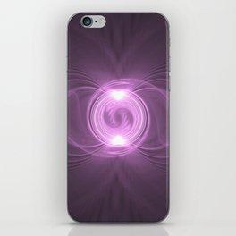 Dancing Atom iPhone Skin