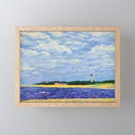 Cape May Lighthouse Framed Mini Art Print