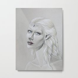 Lythia, the Light Metal Print