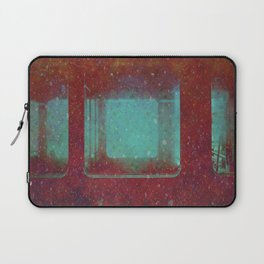 Into the City, Structure Windows Grunge Laptop Sleeve
