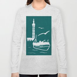 Home in Turquoise Long Sleeve T-shirt