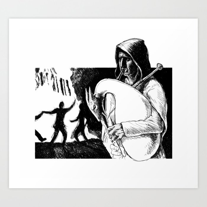 Mother Night Art Print